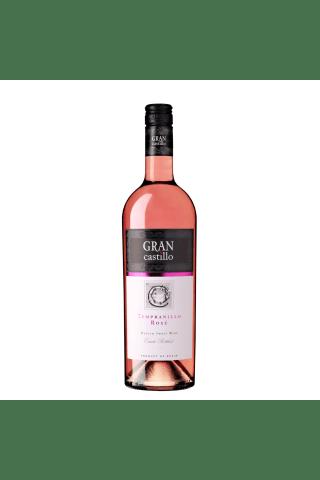 Rozā vīns Gran Castillo Rose pussalds 11,5% 0,75l