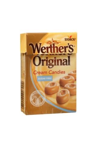 Saldainiai WERTHER'S MINIS SUGAR FREE, 42 g