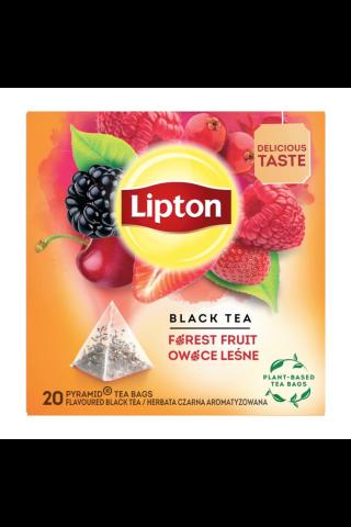 Juodoji arbata su miško uogų aromatu LIPTON, 20 pak. x 1,7 g, 34 g