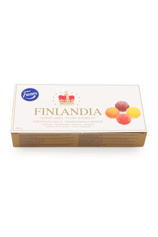 Marmelādes izlase Fazer Finlandia 260g