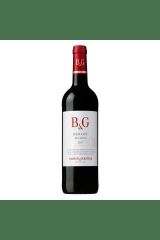 Sarkanvīns Barton & Guestier Merlot Reserve Languedoc - Roussill sausais 13,5% 0,75l
