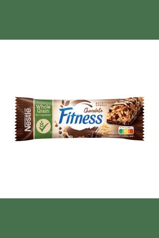 Brokastu pārslu batoniņš Nestle Fitness ar šokolādi, vitamīniem un minerālvielām 23,5g