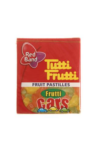 Vaisiniai kramtomi saldainiai TUTTI FRUTTI Cars, 15g
