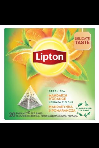 Tēja zaļā Lipton mandarīnu un apelsīnu 20tm 36g