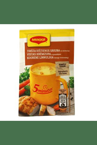Tiršta vištienos sriuba su skrebučiais MAGGI, 16 g