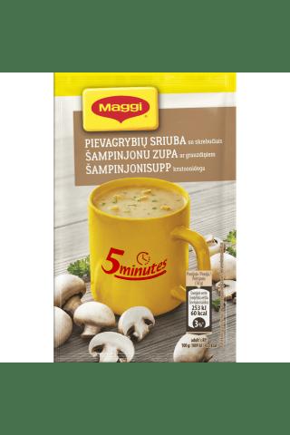 Pievagrybių sriuba su skrebučiais MAGGI, 14 g
