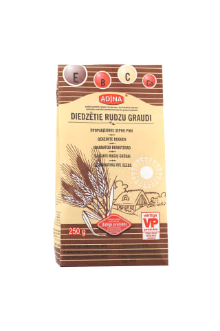 Rudzu graudi diedzēti 250g