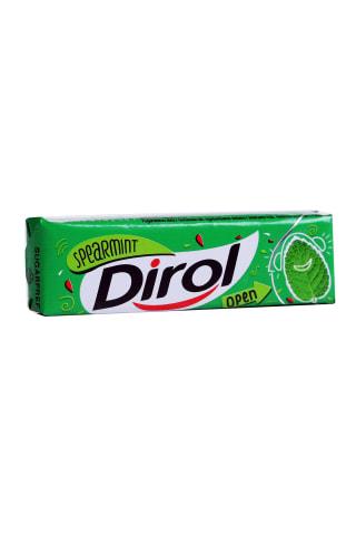 Švelnių mėtų skonio kramtomoji guma DIROL, 13,6g