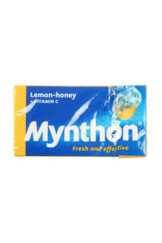 Pastilės mynthon lemon-honey, 34g