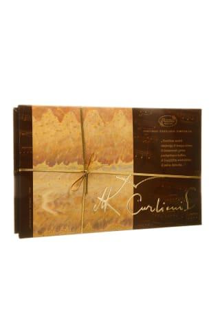 Šokoladinių saldainių rinkinys Čiurlionis, 175 g