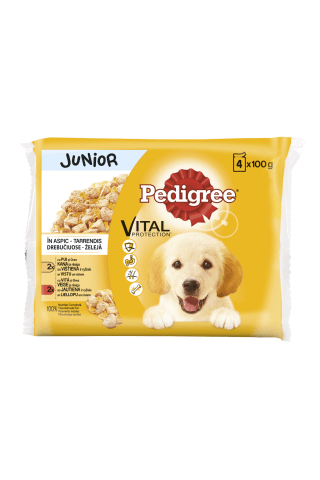 Suņu konservi Pedigree junior 100gx4