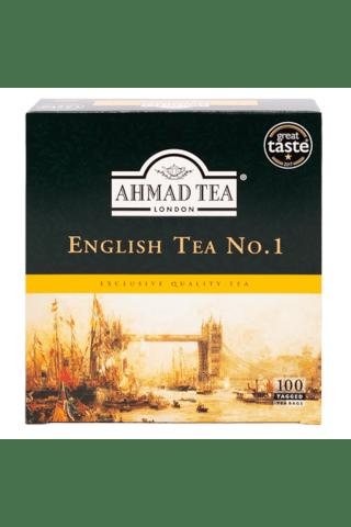 Melnā tēja Ahmad English Nr.1 100x2g