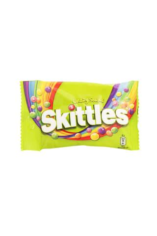 Kramtomi saldainiai SKITTLES CRAZY SOURS, 125 g