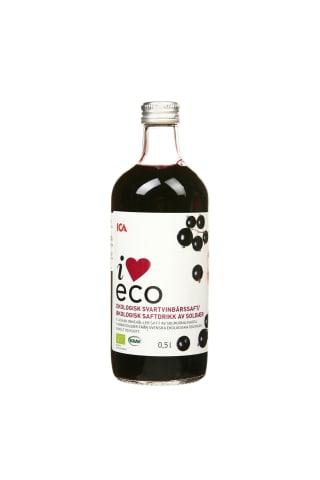 Ekologiškas juodųjų serbentų sirupas I LOVE ECO, 0,5 l