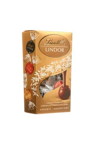 Šokoladinių rutuliukų rinkinys LINDOR, 200 g