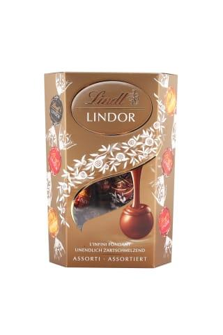 Šokolādes konfektes Lindor Asorti 200g