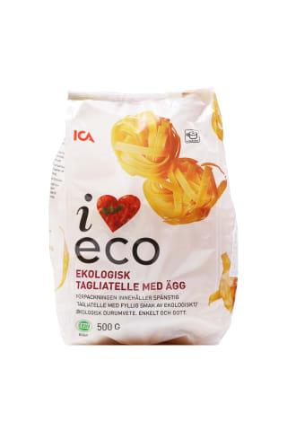 Makaroni Tagliatelle ICA I love ECO 500g