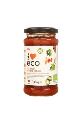 Ekologiškas tako padažas I LOVE ECO, 230 g
