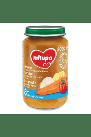 Biezenis Milupa vista kartupeļu sautējums 8mēn. 200g