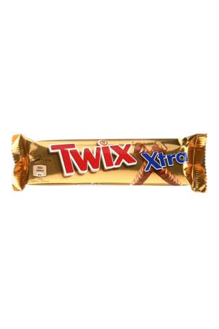 Šokoladinis batonėlis TWIX XTRA, 2 vnt. x 37,5 g, 75 g