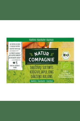 Ekologiškas daržovių sultinys NATUR COMPAGNIE, 84 g
