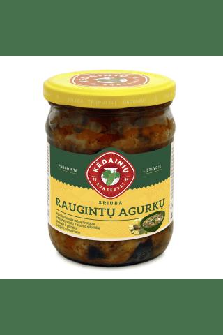 Raugintų agurkų sriuba KĖDAINIŲ KONSERVAI, 480 g