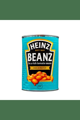 Keptos pupelės pomidorų padaže HEINZ, 415 g