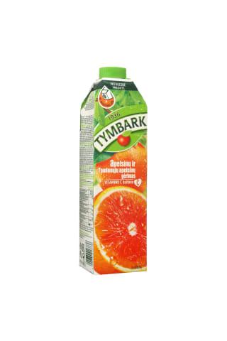 Apelsinų ir raudonųjų apelsinų gėrimas TYMBARK, 1 l