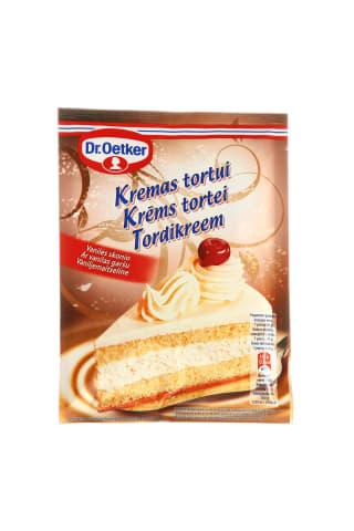 Kremas tortams vanilinis 120g
