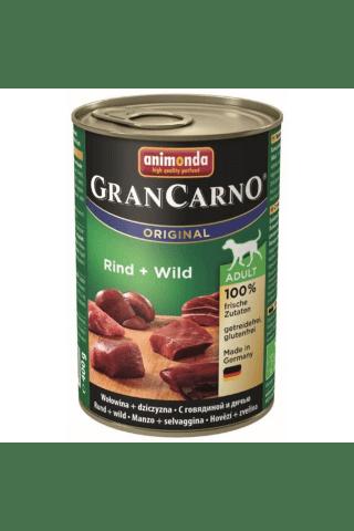 Konservi suņiem Grancarno liellopa 400g