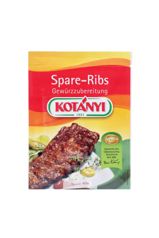 Garšvielas Kotanyi ar medu ribiņu pagatavošanai 40g