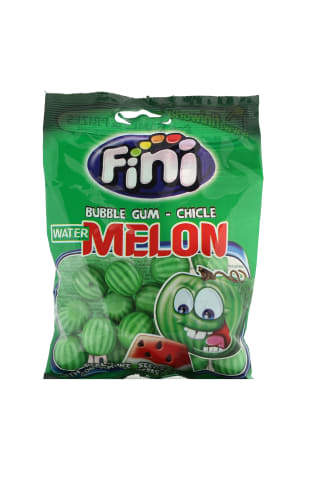 Arbūzų skonio kramtomoji guma FINI, 90 g