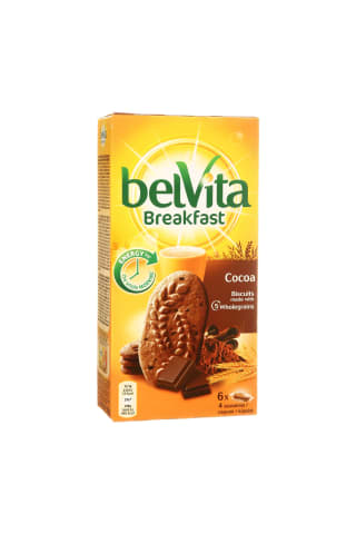 COOKIES BELVITA WHOLEGRAIN CHOCOL.300G