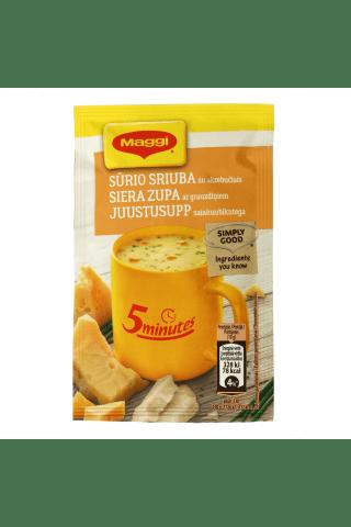 Sausā zupa Maggi siera ar grauzdiņiem šķīstoša 19g
