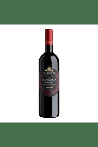 Sarkanvīns Zonin Ripasso Valpolicella Superiore Corvina,Rondinella, Molinara Veneto sausais 14% 0,75l