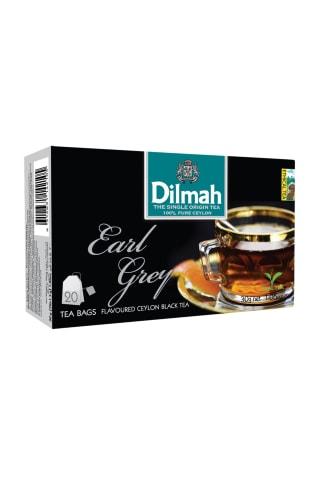 Melnā tēja Dilmah ar bergamotu 20tm 30g