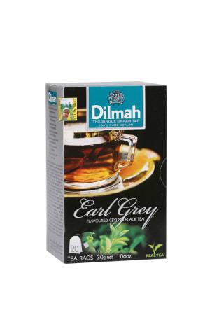 Juodoji arbata su bergamote DILMAH EARL GREY, 20 pak.