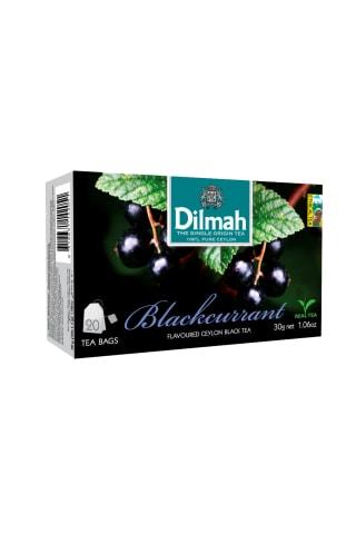 Juodoji arbata su serbentais DILMAH, 20 pak.