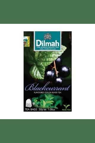 Melnā tēja Dilmah upeņu 20tm 30g