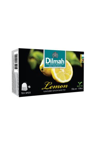 Melnā tēja Dilmah citronu 20tm 30g
