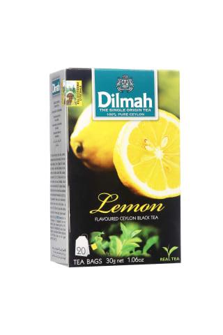 Juodoji arbata su citrinomis DILMAH, 20 pak.