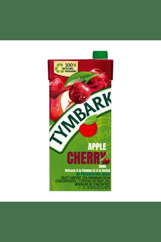 Vyšnių ir obuolių gėrimas TYMBARK, 2 l