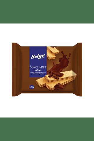 Vafeles Selga ar šokolādes garšu 180g