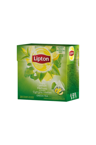 Zaļā tēja Lipton ar citronu melisu 20tm 36g