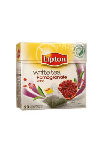 Granatų skonio baltoji arbata LIPTON, 20 pak.