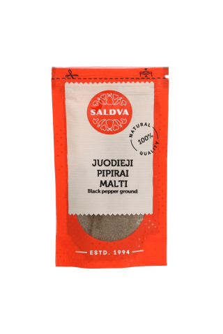 Malti juodieji pipirai SALDVA, 25 g