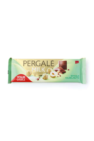 Piena šokolāde pergale ar riekstiem 250g