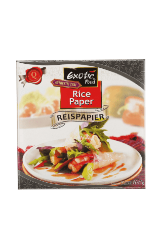 Rīsu papīrs Exotic food 100g