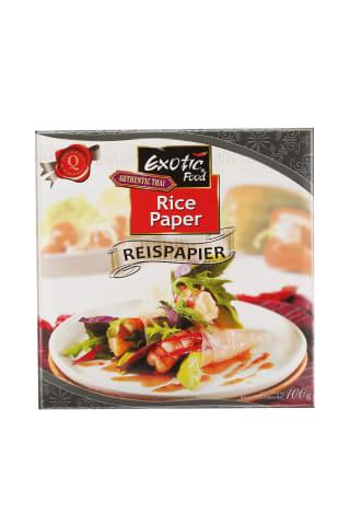 Rīsu papīrs Exotic food 100g