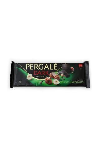 Tumšā šokolāde Pergale ar riekstiem 250g